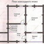 План дома 111 м2