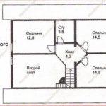 План дома 122м2