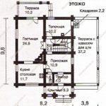План дома 153,1 м2