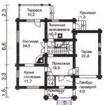 План дома 166 м2