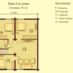 План дома 195м2