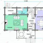 План дома 200,8 м2