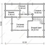План дома 245 м2