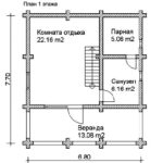 План дома 77 м2 (2)