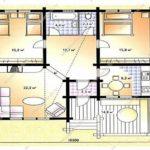 План дома 84,7 м2