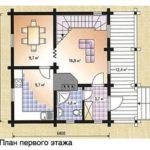 План дома 89 м2