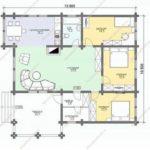 План дома 136,5 м2