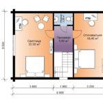 План бани 6 на 9 метров(2)