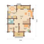 План дома 133 м2
