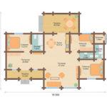 План дома 140 м2