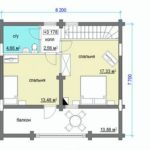 План дома 7 на 8 метров(2)