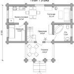 План дома 8 на 9 метров (1)