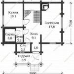 План дома 92,6 м2