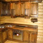 Деревянная мебель из бревна(2)