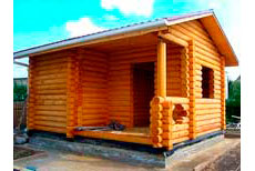 Стандартные срубы домов
