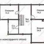 План дома 148 м2