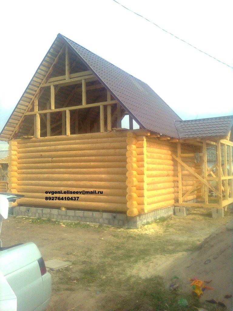 Дом из бревна 105 м2