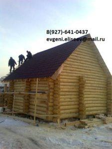 Дом из бревна (13)