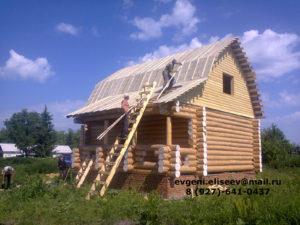 Готовые дома из бревна (10)