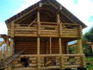 Готовые дома из бревна (17)