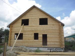Готовые дома из бревна (2)