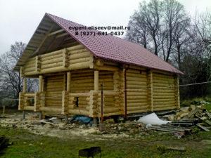 Готовые дома из бревна (26)