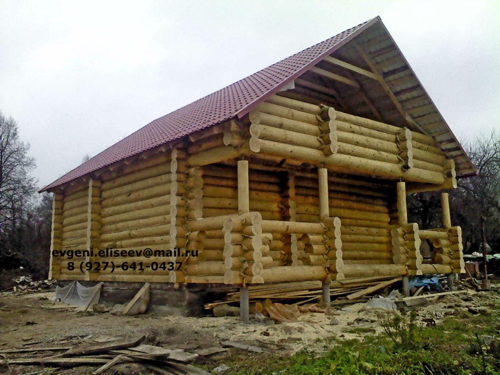 Готовые дома из бревна (28)
