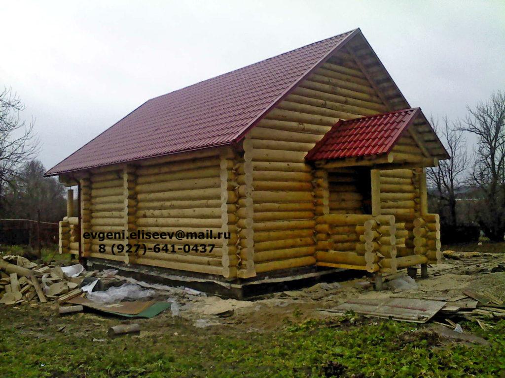 Готовые дома из бревна (30)
