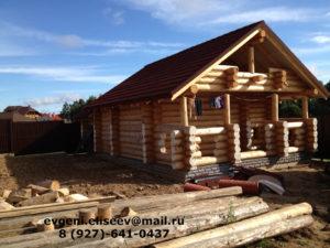 Готовые дома из бревна (6)