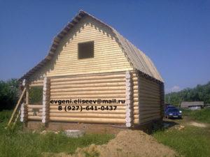 Готовые дома из бревна (9)