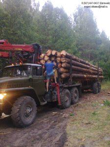 Доставка леса