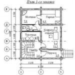 План дома 104 м2