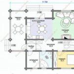 План дома 207,1 м2