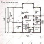 План дома 226 м2