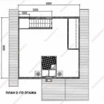 План дома 76 м2