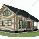 План дома 89,9 м2