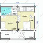 План дома 126 м2