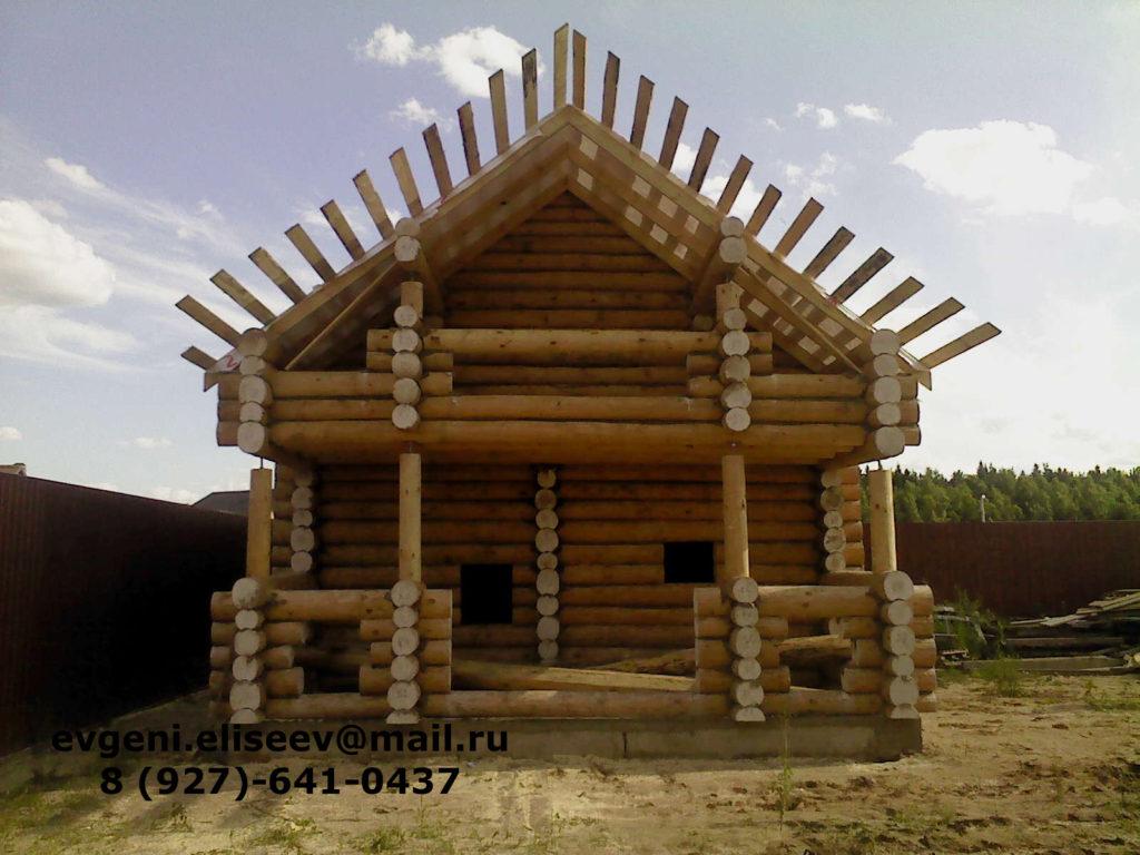 Строительство дома из бревна (10)