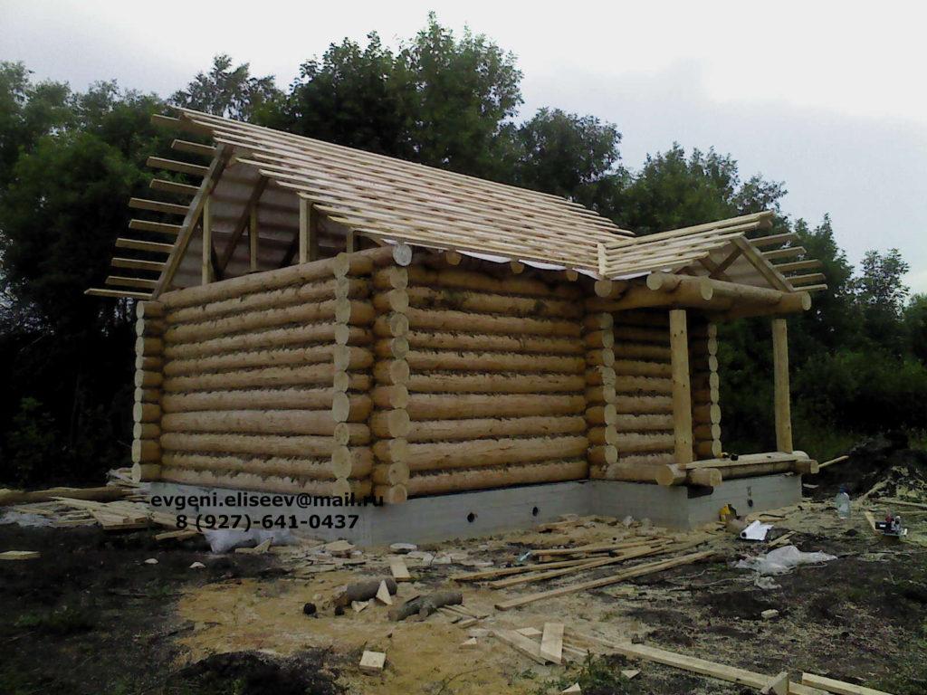 Строительство дома из бревна (11)