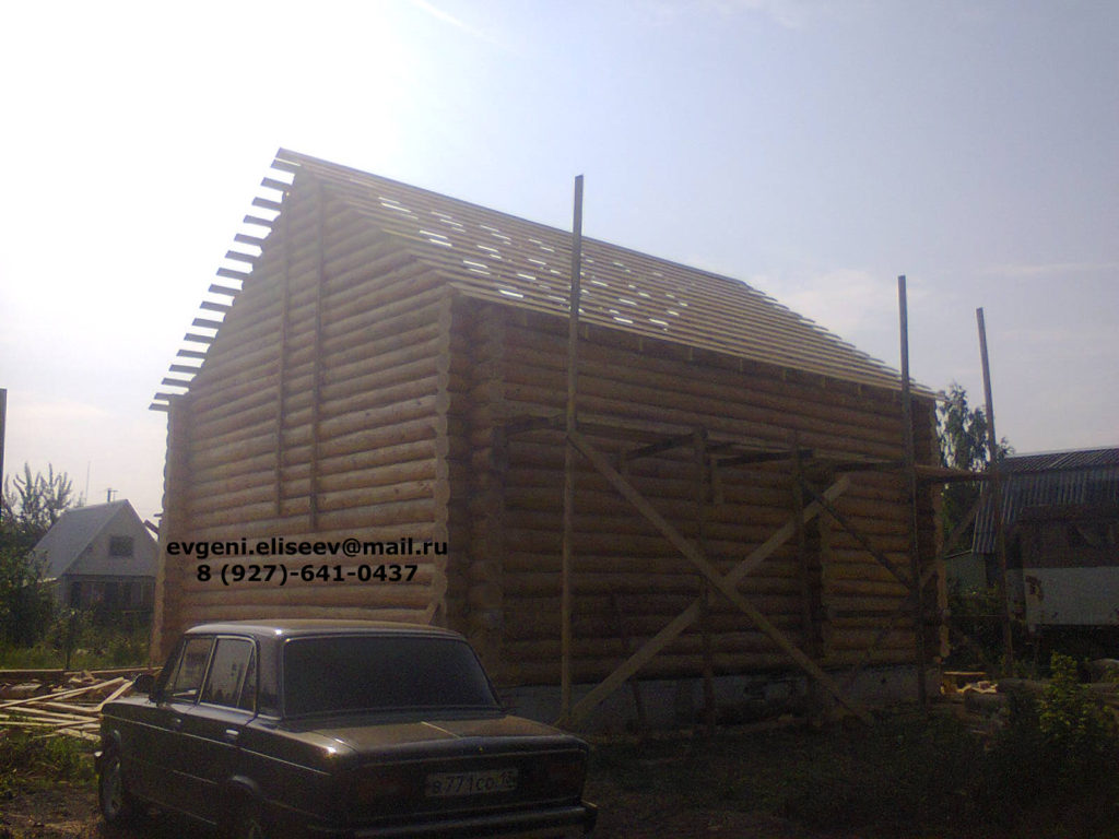 Строительство дома из бревна (13)