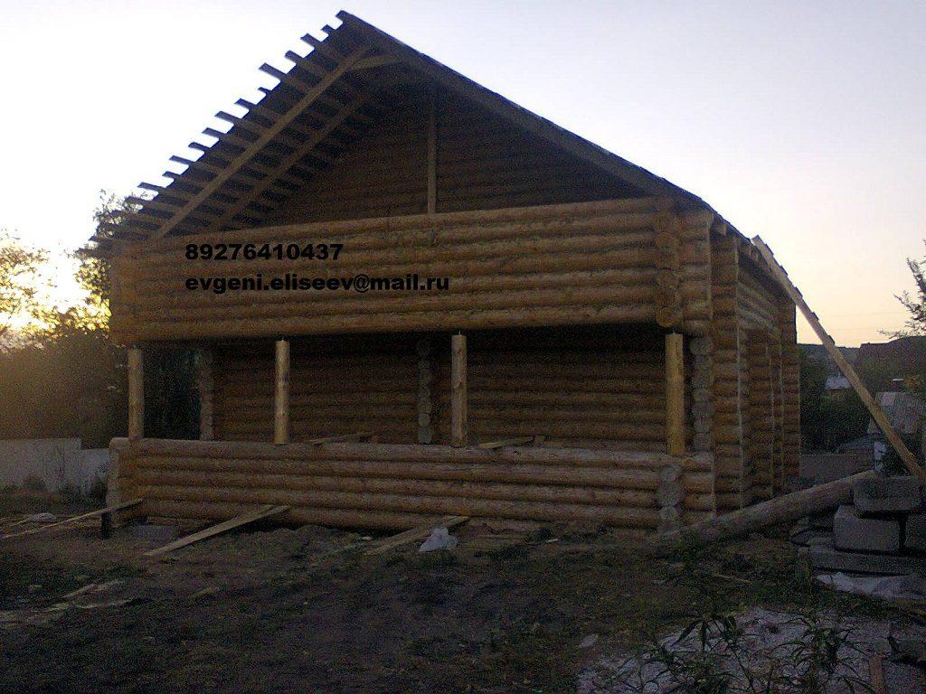 Строительство дома из бревна (16)