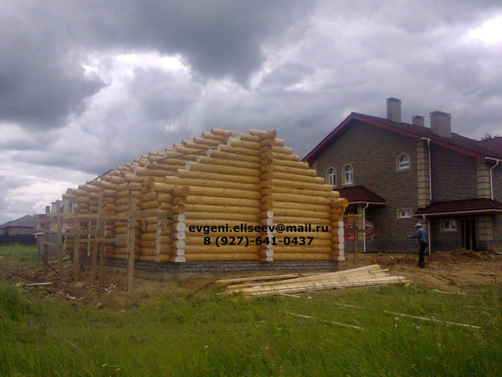 Строительство дома из бревна (19)