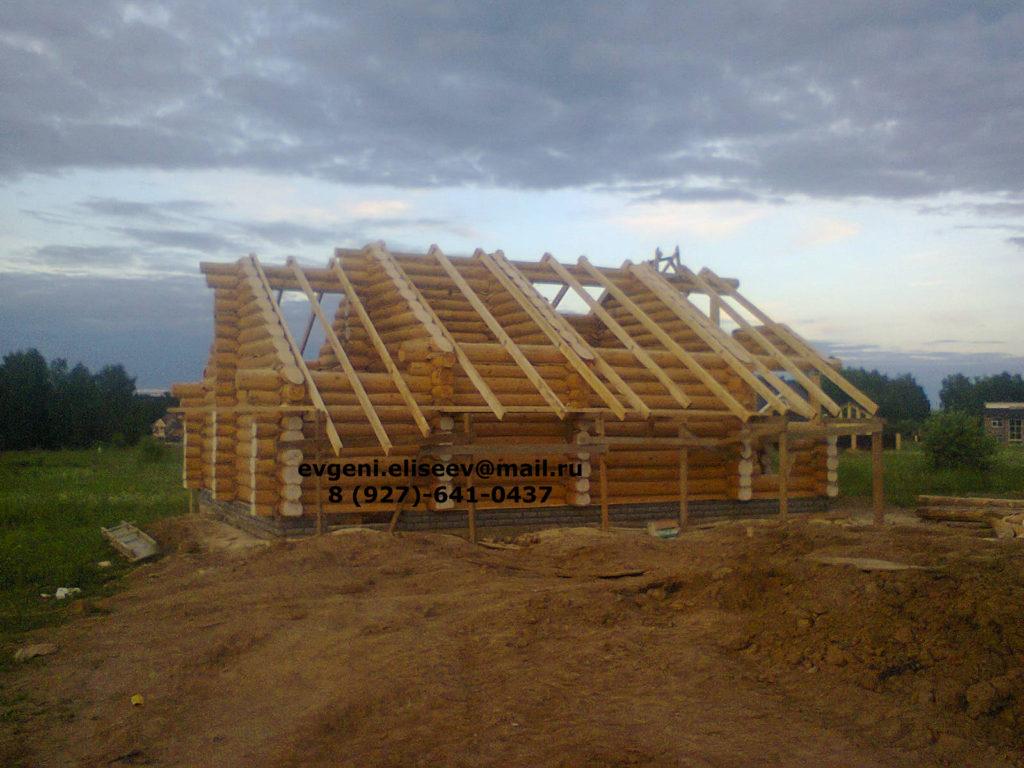 Строительство дома из бревна (20)