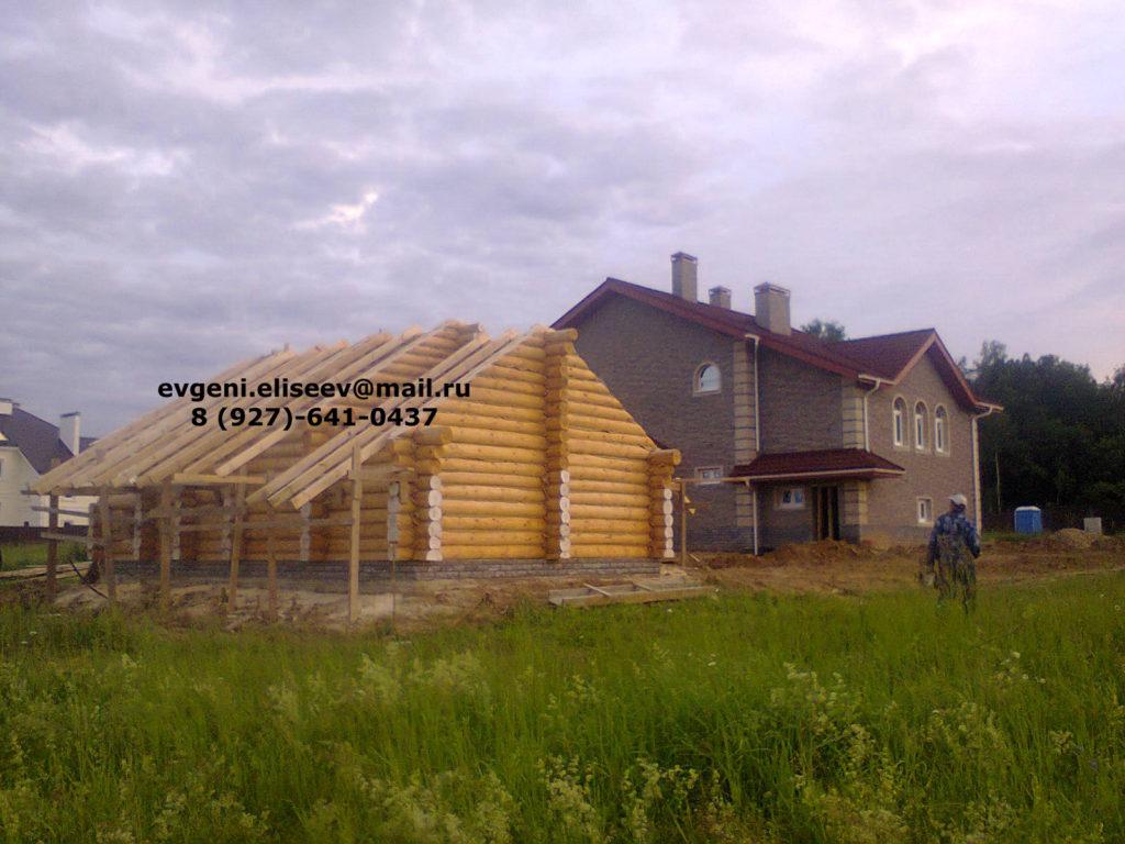 Строительство дома из бревна (21)