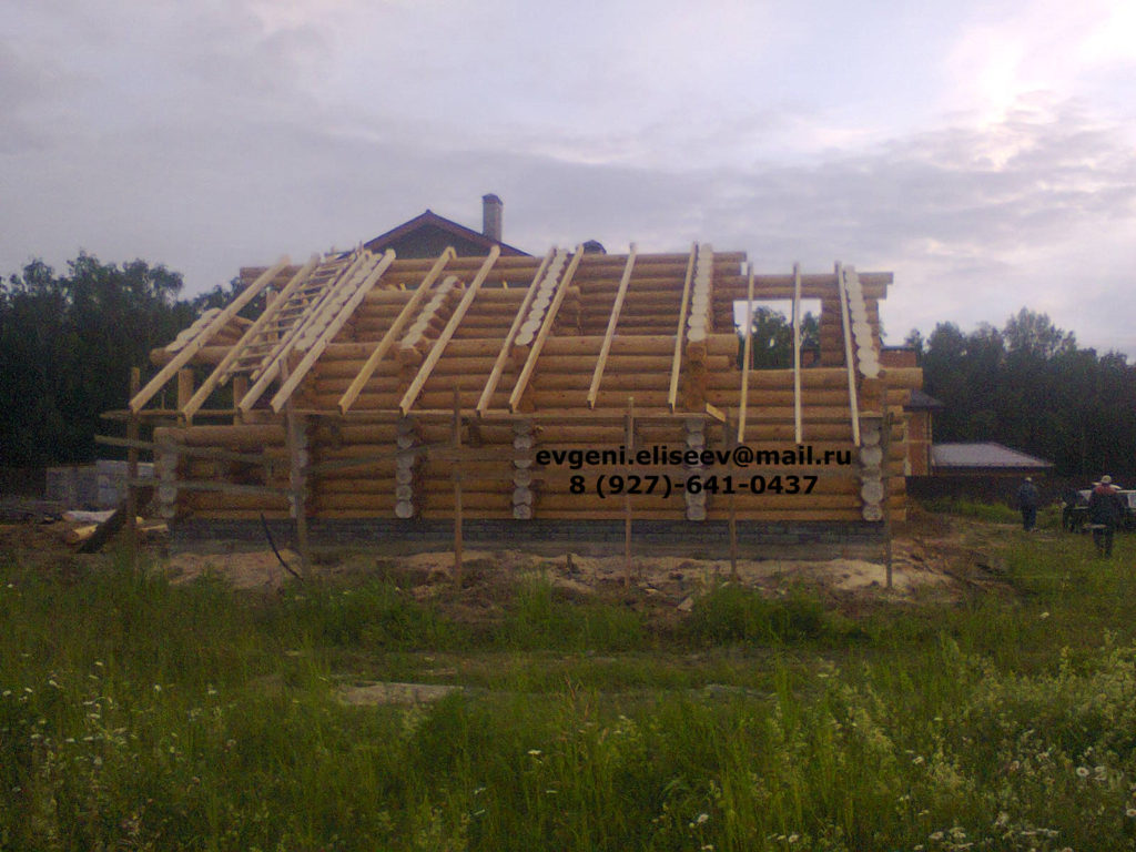 Строительство дома из бревна (22)