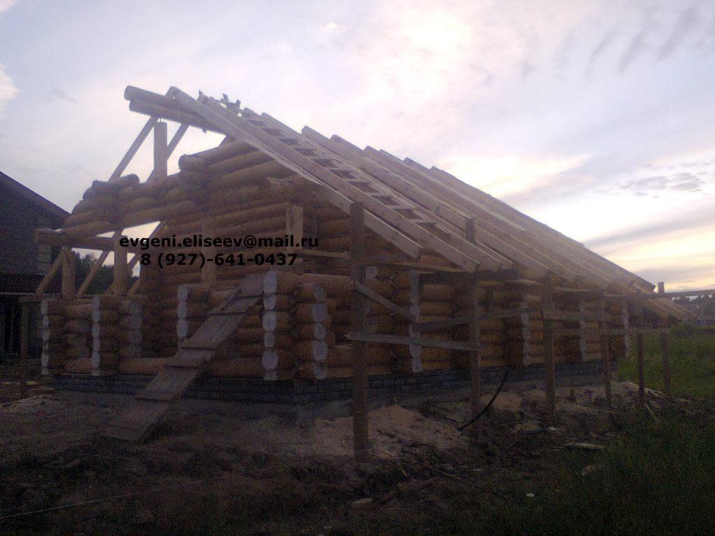 Строительство дома из бревна (23)