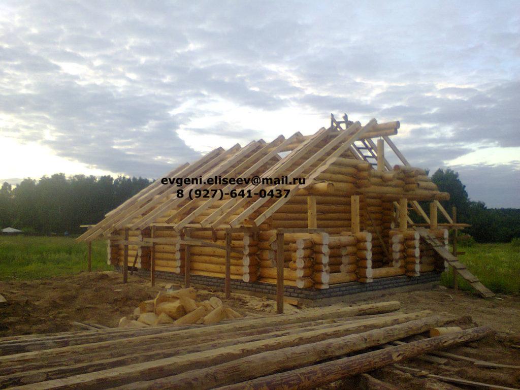 Строительство дома из бревна (24)