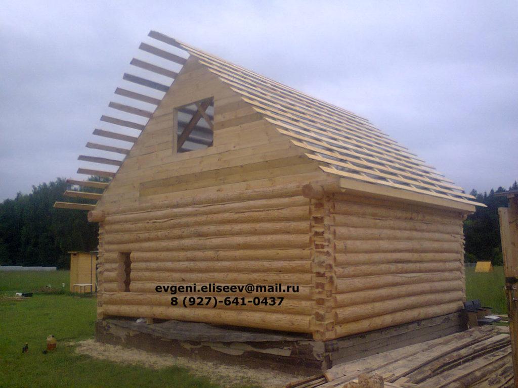 Строительство дома из бревна (25)