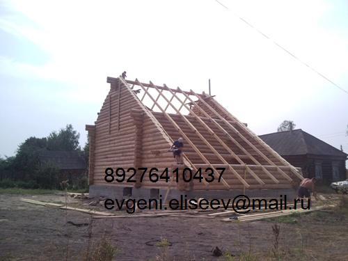 Строительство дома из бревна (26)