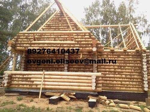 Строительство дома из бревна (28)